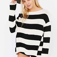 BDG Noble Sweater- Black & White
