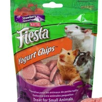 Kaytee Fiesta Hamster Strawberry Yogurt Chips 3.5 oz