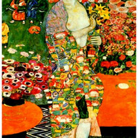 Gustav Klimt Die Tanzerin The Dancer Art Poster 11x17