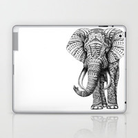 Ornate Elephant Laptop & iPad Skin by BioWorkZ | Society6