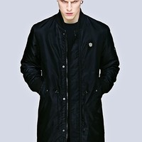 Long Fit MA1 Jacket - Store