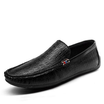 Mens Breathable Loafer Dress Shoes