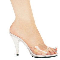 "Women's 4"" Heel Clear Mule"