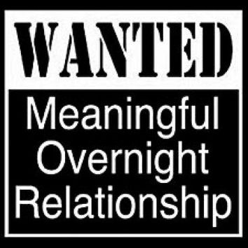 Wanted Meaningful Overnight Relationship Tshirt. Great Printed Tshirt For Ladies Mens Style All Sizes And Colors Great Ideas For Xmas Gifts.