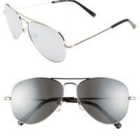 MICHAEL Michael Kors 'Dylan' 58mm Aviator Sunglasses