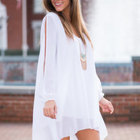 The Serenity Dress, White