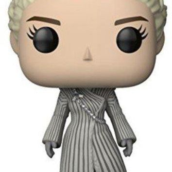 Funko Pop TV: Game of Thrones Daenerys White Coat Collectible Figure, Multicolor