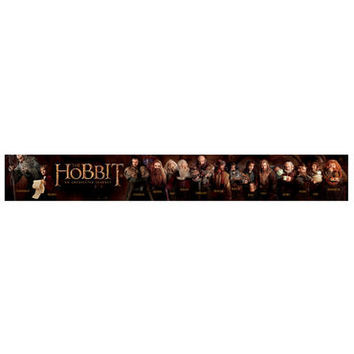The Hobbit: An Unexpected Journey Character Panoramic Poster | WBshop.com | Warner Bros.