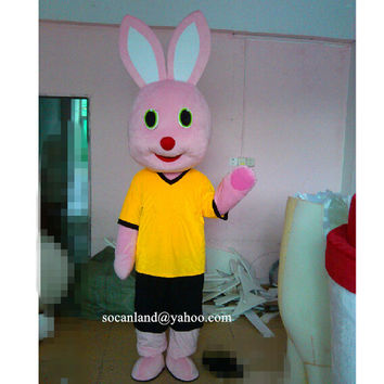 Easter/Xmas Bunny Mascot Costume,Cosplay Costume,Adult Costume,Party Costume,Halloween Costume,Easter Costume,Rabbit Cosplay,Clothing