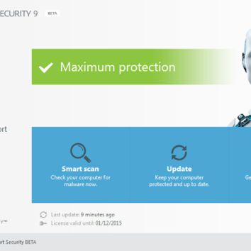 ESET Smart Security 9 Crack and Serial Keys Free