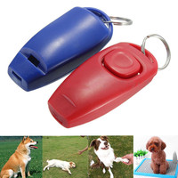 Dog Clicker & Whistle- Training, Obedience, Pet Trainer Click Puppy With Guide #265