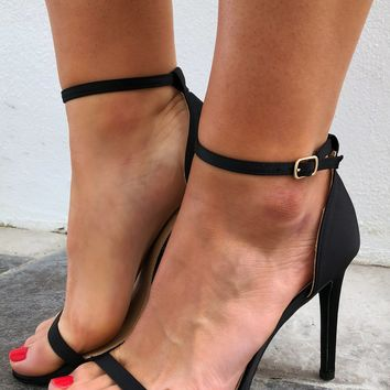 My Work Heels: Black