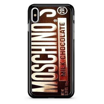 Moschino Milk Chocolate iPhone X Case