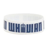Doctor Who Whovian Rubber Bracelet