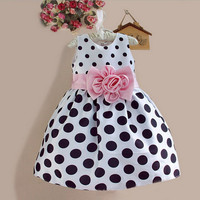 Beautiful Girls Polk-a-dot Summer Dress