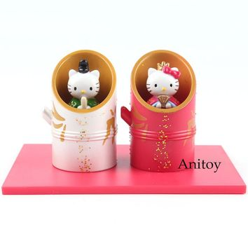 Hello Kitty Figure Action Figure Collectible Toys 2pcs/set 6cm