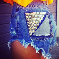 Studded Back Pocket