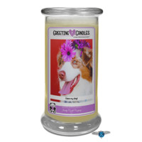 I Love My Dog | Jewelry Greeting Candles