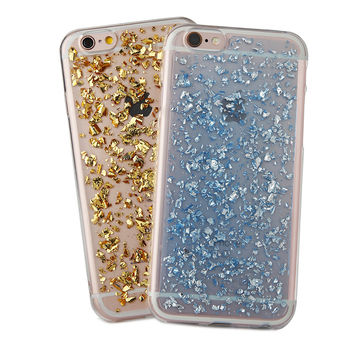 "Luxury Twinkling Platinum Glitter Soft Silicon TPU Case For Iphone SE 5/5s/6/6s/6s plus/4.7/5.5"" cover fashion Phone Case"
