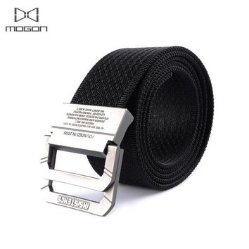 PEAPFS2 2018 New Arrival Sale Outdoor Army Tactical Belt Military Nylon Belts Mens Waist Swat Strap With Buckle Rappelling Three Color