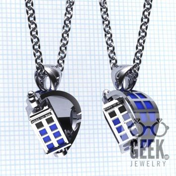 The Spin Doctor- TARDIS Pendant