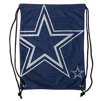 NFL Dallas Cowboys 2015 Jersey Drawstring Backpack, Blue