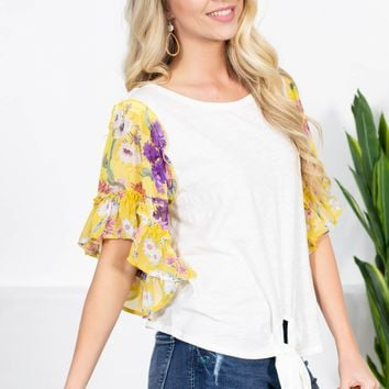Full of Grace Knot Top