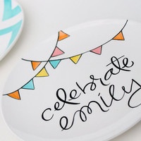 The Celebrate Special Day Large Plate Perfect by AedrielOriginals