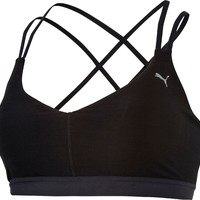 Puma Women's Training Yogini Lux Strappy Sports Bra