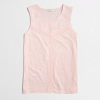 Factory lace tank top