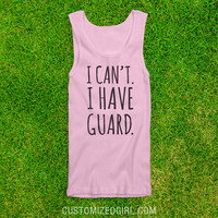 I Can't I Have Color Guard