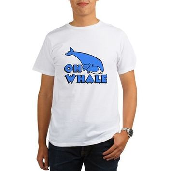 Oh Whale Organic Men's T-Shirt