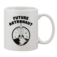 Future Astronaut Printed 11oz Coffee Mug