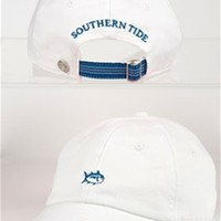 Southern Tide Ladies Skipjack Hat in White 2170-WH