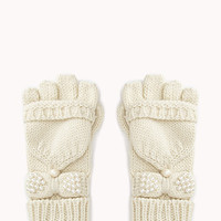 Sweet Fingerless Gloves w/ Mittens