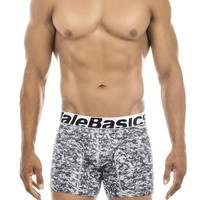 Malebasics Men's Performace Moisture wicking Boxer Brief Camo