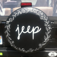 Laurels Jeep Tire Cover