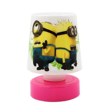 Mini cute led night light Small Minions Table Desk Lamp 5V dry battery power night lamp for baby's bedroom light
