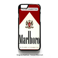 Marlboro Cigarette for iPhone 4 4S 5 5S 5C 6 6 Plus , iPod Touch 4 5  , Samsung Galaxy S3 S4 S5 Note 3 Note 4 , and HTC One X M7 M8 Case Cover