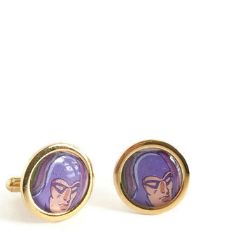 Superhero Cuff Links, Cuff Links for Geek, Geekery, CuffLinks Vintage, Mens Accessories, Mens Gift Ideas, Comic Cuff Links, Fathers Day Gift