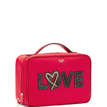 Runway Patch Jetsetter Travel Case - Victoria's Secret