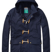 toggle hooded jacket - Scotch & Soda