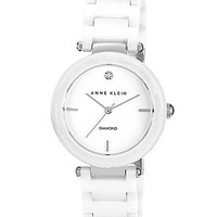 Anne Klein White Ceramic Watch - White