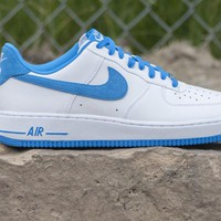 Nike Air Force 1 Low Gray/Royal Blue