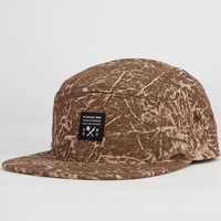 Us Versus Them Party Time Mens 5 Panel Hat Brown One Size For Men 23177740001