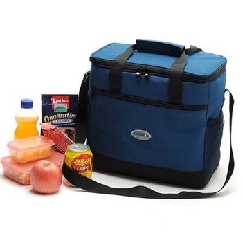 Cool Backpack school New High quality thermal cooler bags shoulder bag vehicle double layer insulation bag food storage cool ice bag thermo pack 16L AT_52_3