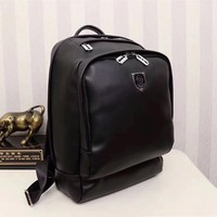 PP PHILIPP PLEIN LEATHER CASUAL BACKPACK BAG