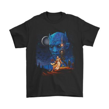 PEAP3CR Game Of Throne And Star Wars Poster Mashup Shirts
