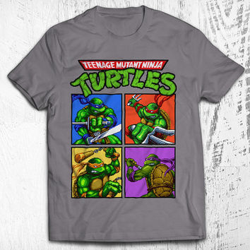 Teenage Mutant Ninja Turtles Unisex Video Game T-shirt