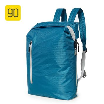 Xiaomi Ecosystem 90FUN Lightweight Backpack Foldable Bag Water Resistant Daypack for Man & Woman, 20L, Blue/Black